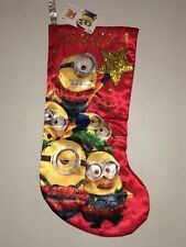 NEW Despicable Me Minions Christmas Stocking by Kurt S Adler It's The Thought