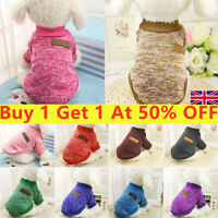 Pet Dog Cat Warm Fleece Vests Clothes Coats Puppy Shirt Sweater Winter Apparels