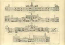 1904 South Wales University College Cardiff Elevations