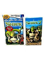 Shrek VHS, Shrek 2 VHS Lot