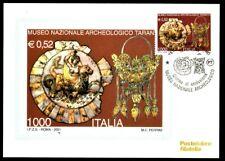 Italy 2001: Archaeological Museum of Taranto-Postcard Official Poste Italiane