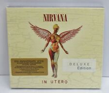 Nirvana In Utero (Deluxe Edition) 20th Anniversary 2 CDs - NEW
