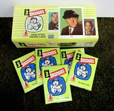 THREE STOOGES 1959 FLEER RE-ISSUE RRPARKS EMPTY DISPLAY BOX W/WRAPPERS NO CARDS