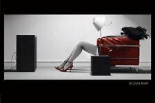 BLOWN AWAY GIRL - ART POSTER - 24x36 MODERN COOL 22869
