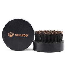 black boar hair bristle beard mustache brush military hard round wood handle  zi