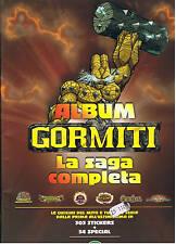 GORMITI LA SAGA COMPLETA album ED. GIOCHI PREZIOSI 2005