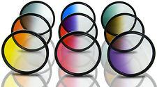 Opteka 52mm HD Multicoated Graduated Color Filter Kit For Digital SLR Cameras