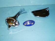 1934 1935 Ford Pickup and Commercial Grille Ornament, Radiator Cap & Blue Emblem