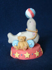 Cherished Teddies - Seal - Circus Seal Figurine - 137596 - 1995