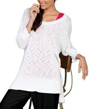 New with Tags FRESH PRODUCE Cozy Retreat Sweater White  M / L MSRP $79