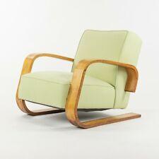 1940s Alvar Aalto 37 400 Tank Cantilever Birch Lounge Chair by Artek in Finland