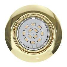 Focos empotrables de iluminación de techo de interior de acero 1-3 luces