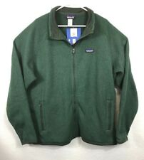 Patagonia Men's XXL M's Better Sweater Fleece Jacket - Forest Green Color NWT