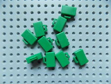 LEGO - Minifigure Suitcase / Briefcase Luggage Bag Utensil  lot of 10 Green