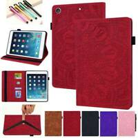 Luxury Leather Wallet Stand Case Cover for iPad 2 3 4 5 6/Air/Mini/Pro 10.2 2019
