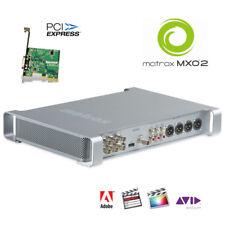 Matrox MXO2 I/O-Box mit PCIe-Karte HD-SDI HDMI Surround-Monitoring AES