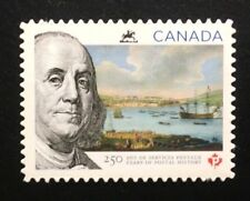 Canada #2649i Die Cut MNH, 250 Years of Postal History Stamp 2013
