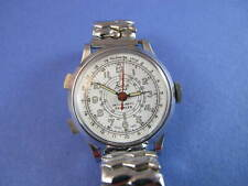 BASIS SPORT MENS VINTAGE  MILITARY DIAL CHRONOGRAPH WATCH no reserve