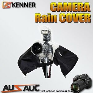 Camera Protector Rain Cover Waterproof for DSLR Canon Nikon Pentax Olympus