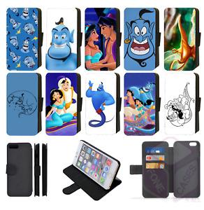Disney Aladdin Wallet Flip Phone Case iPhone 6,7,8 Plus,XS,11 Pro Max
