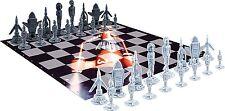 THE THUNDERBIRDS Set échecs échiquier 32 Figurine Véhicules-jouets JEU D'ÉCHECS