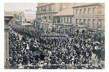 rp16507 - Funeral of Inspector Walls at Eastbourne , Sussex 1912 - photo 6x4