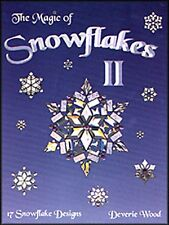 Stained Glass Pattern Book The Magic of Snowflakes II
