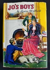 Vintage Jo's Boys by Louisa M. Alcott Saalfield Publisher Hardcover 1943