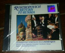 Return to Russia (CD, Dec-2005, Sony Music Distribution)