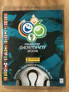 100% ORIGINAL COMPLETE PRINTED ALBUM FIFA WORLD CUP GERMANY 2006 PANINI SEALED