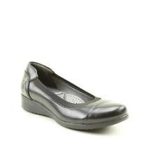 Heavenly Feet Supple Womens Ladies Flats Shoes Orange UK Size