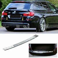 BMW 5 SERIES F11 ESTATE S.Steel CHROME Rear Bumper Protector Cover 2010-2017