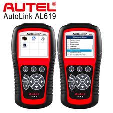 Autel Autolink AL619 OBD2 Diagnóstico Herramienta Escáner Código SRS ABS Airbag