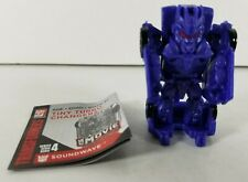 Transformers Tiny Turbo Changers Series 4 Soundwave Transforming Minifigure