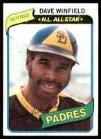 1980 Topps A Dave Winfield #230
