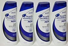 LOT (4) HEAD & SHOULDERS MEN 2IN1 FULL & THICK SHAMPOO & CONDITIONER EXP 9/2018