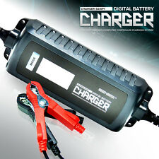 Battery Charger 6V an 12V Speed Charge Maintainer Car Truck Marine Boat