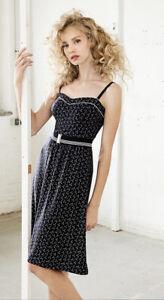 Vive Maria 💙 Sea Girl Dress Kleid Navy Anker Gürtel