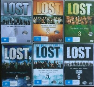 LOST season 1 - 6 COMPLETE SERIES DVD COLLECTION (37 discs) AUSTRALIAN RELEASES