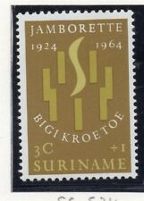Suriname 1964 Early Issue Fine Mint Hinged 3c. 168961