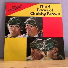 ROY CHUBBY BROWN The 4 Faces Of Chubby Brown - UK vinyl LP EXCELLENT CONDITION