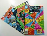 DC BATMAN: DETECTIVE COMICS Vol. 1 (1984) #534 535 542 LOT SHIPS FREE!