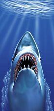 30x60 Large Great White Shark Fish Cruise Vacation Pool Gift Bath Beach Towel