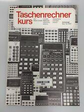 0052 Taschenrechner Buch Taschenrechnerkurs