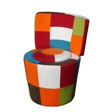 Chaises vintage/rétro en tissu pour le salon