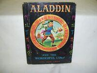 Aladdin and The Wonderful Lamp  Antique Book 1940 McLoughlin Bros.