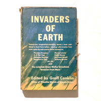 Invaders of Earth - Edited by Groff Conklin Vanguard 1952 1st Edition Hardcover
