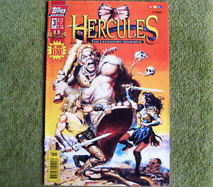 TOPPS Comics Hercules # 3 mit dabei: XENA inklusive Poster
