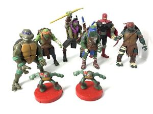 teenage mutant ninja turtles Lot  Shredder Playmates Mixed Years 2003/2014/2015