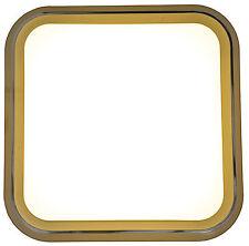 Plafoniera Lampada soffitto LED Design Ø33cm da cucina bagno Cattiva